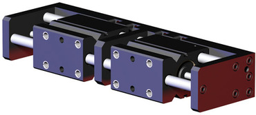 Destaco's RPR Series of 2-jaw, heavy-duty parallel grippers feature high rigidity and long stroke capability.