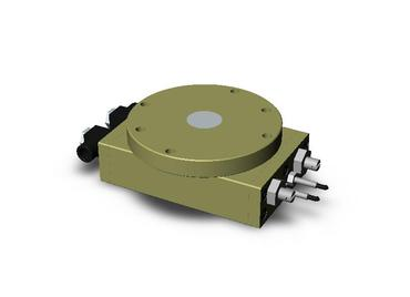 Destaco's RR-36 Series of medium duty, flange output rotary actuators feature a low profile design and bearing supported turn table.