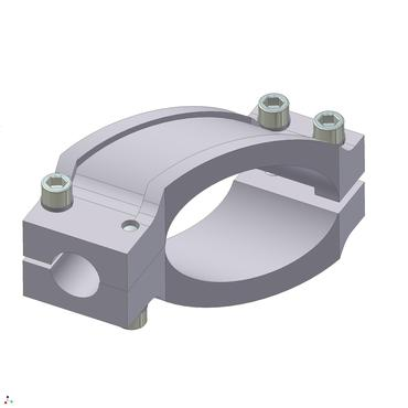 "Destaco's SEC Series of wrist clamps designed for connecting a 1.50"" tube to a 1.00"" tube."