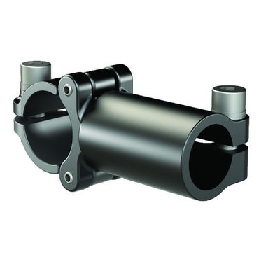 Destaco's TCL Series of T-clamps with removable caps connect two tubes perpendicular to each other in a low profile design.