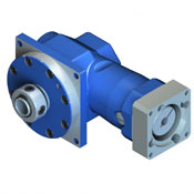 DL-DC right angle hypoid gearbox with hollow output