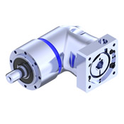 EPR-A right angle planetary gearbox with shaft output