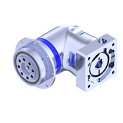 Precision Right Angle Gear Reducer with flange output