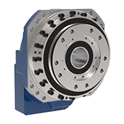 GPL-H robotic planetary gearbox with flange output, thru hole