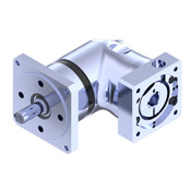 PER-N right angle planetary gearbox with NEMA shaft output