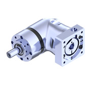 PER right angle planetary gearbox with shaft output