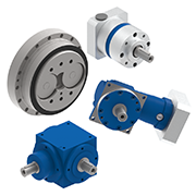 Zero-backlash robotic gear reducers, High precision inline and right angle gear reducers, and precision spiral bevel gear reducers