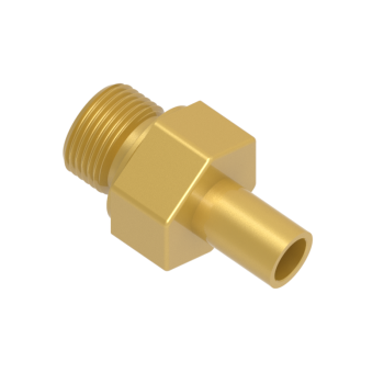 CAM-38M-24G-BRAS Male Adapter Female Iso Parallel Thread
