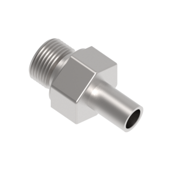 CAM-38M-24G-S316 Male Adapter Female Iso Parallel Thread