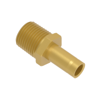 CAM-6-8N-BRAS Male Adapter Female Npt Thread