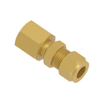 CBFC-4-4N-BRAS Bulkhead Female Connector