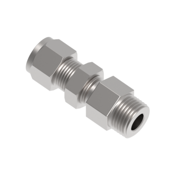 CBMC-16-16N-S316 Tube To Pipe Bulkhead Male Connector