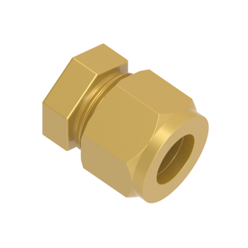 CCA-12-BRAS Cap For Tube End