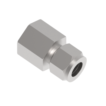 CFC-6-12N-S316 Female Connector Tube To Female