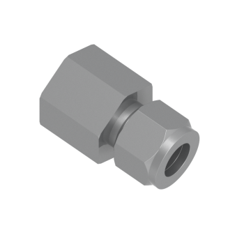 CFC-12M-4R-STEL Female Connector Tube To Female