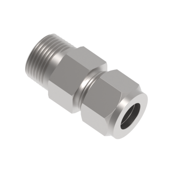 CMC-4-6N-S316 Male Connector Tube To Male