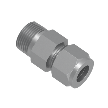 CMC-16M-12R-STEL Male Connector Tube To Male