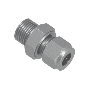 CMC-28M-20G-STEL Male Connector For Bonded Washer Seal