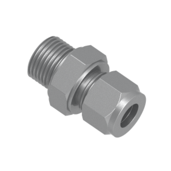 COM-20M-8G-STEL Male Connector For Metal Gasket Seal