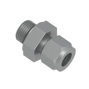 COS-3-3U-STEL O Seal Straight Thread Connector