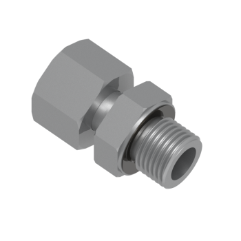 DA-12L-M16ED-STEL Adapter Metric Paralled