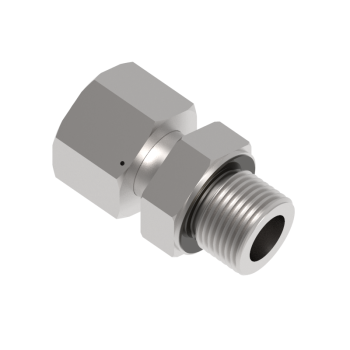 DEGE-06L-01G-S316 Swivel Adapter Bsp Paralled