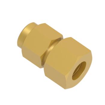 DGC12L-02G-BRAS Pressure Gauge Connector Bsp Paralled