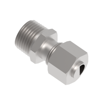 DMC-10L-03N-SS316 Male Connector Npt Tapred