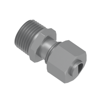 DMC-10L-03N-STEL Male Connector Npt Tapred