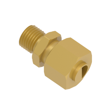 DMC-08S-M14-BRAS Male Connector Metric Paralled