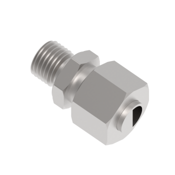 DMC-12S-M18-SS316 Male Connector Metric Paralled