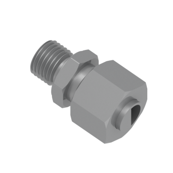 DMC-28L-M33-STEL Male Connector Metric Paralled
