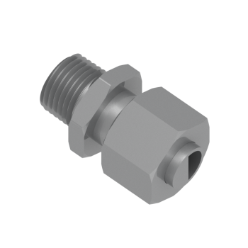 DMC-14S-MK20-STEL Male Connector Metric Tapered