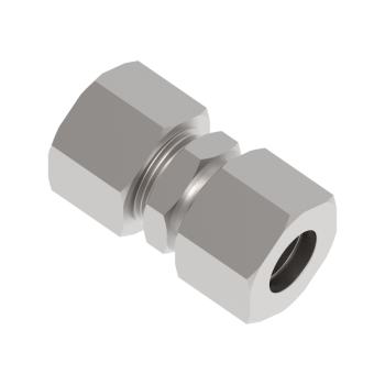 DU-06L-SS316 Tube To Tube Straight Union