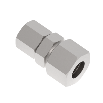 DUR-10S-08S-SS316 Din2353 Tub To Tube Reducing Union
