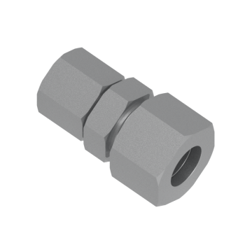 DUR-08L-06L-STEL Din2353 Tub To Tube Reducing Union