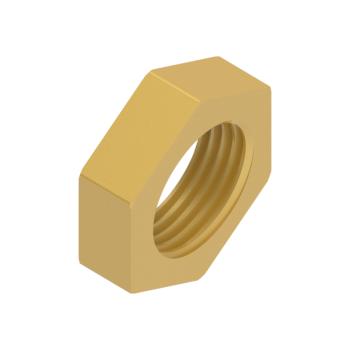 FLN-4T-BRAS Bulkhead Lock Nut