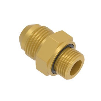 FOMR5T-01G-BRAS O Ring Seal Male Connector Pf