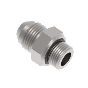 FOMR5T-01G-S316 O Ring Seal Male Connector Pf