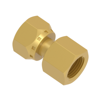 FSFFC4T-01N-BRAS 37 Jic Swivel Female Connector