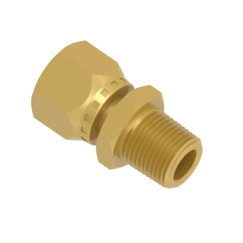 FSFMC6T-02N-BRAS Swivel Connector