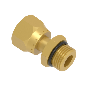 FSFOM12T-12U-BRAS O Ring Seal Swivel Connector Unf