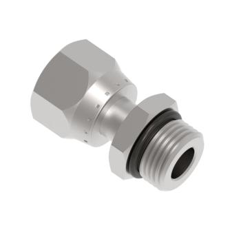 FSFOM12T-12U-S316 O Ring Seal Swivel Connector Unf