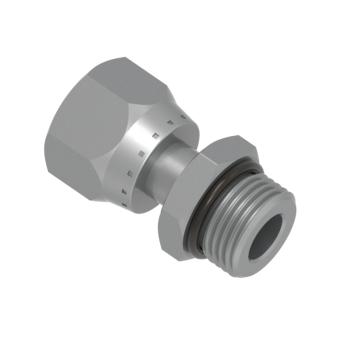 FSFOM-8T-08U-STEL O Ring Seal Swivel Connector Unf
