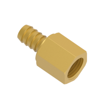 H-HCF4-6N-BRAS Female Hose Connectors