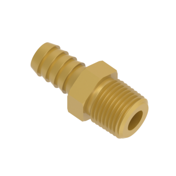 H-HCM10-12N-BRAS Male Hose Connectors Npt