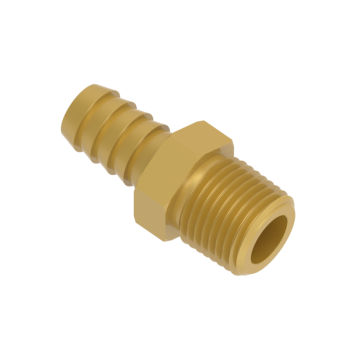 H-HCM6-6R-BRAS Male Hose Connectors Iso R71