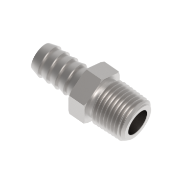 H-HCM4-2R-S316 Male Hose Connectors Iso R71