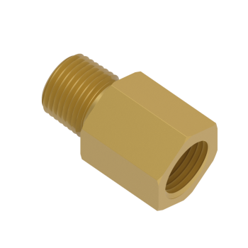 H-MFAA-8RN-BRAS Adapter Female Npt To Male Iso Tapered
