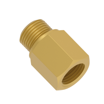 H-MFAB-2GN-BRAS Adapter Female Npt To Male Iso Parallel